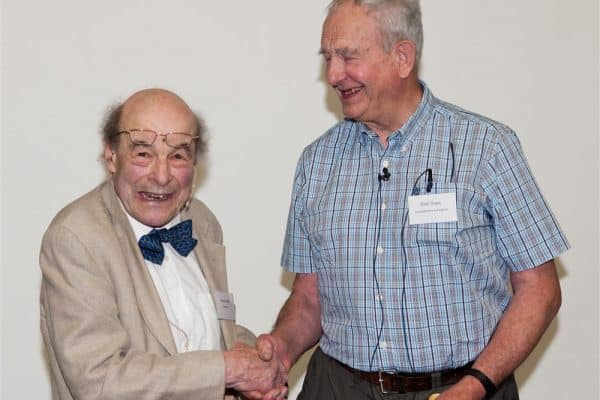 Heinz Wolf (L) and Dick Gays (R) in 2013