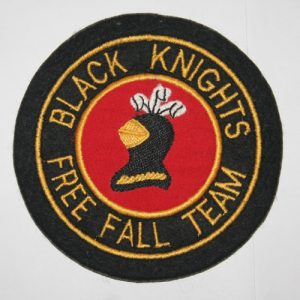 Black Knights, Free Fall Team
