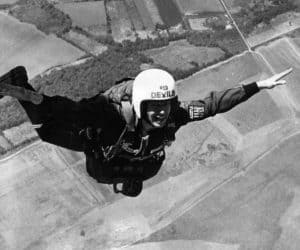 John above Pau in France taken by Charles Shea-Simonds