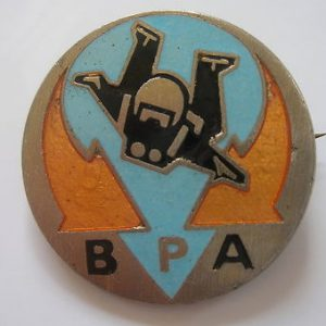 British Parachute Association - badge/pin