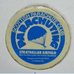 Scottish Parachute Club - badge