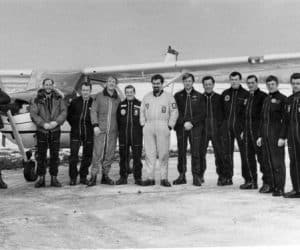 Instructors Course at Sunderland 1969. Doug Peacock, unknown, Aussie Powers, Kerry Noble, Brian Holt, unknown