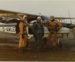 Biff Burn, Tom Butler and Rob Noble-Nesbitt circa 1974