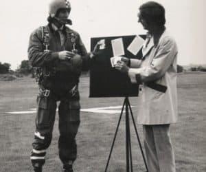 Kreskin TV Show - 1973. Rob Noble-Nesbitt and Kreskin.