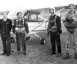 Geoff Mew, Alan Layton, Doug Upson, Rob Noble-Nesbitt, circa 1973