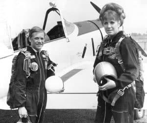 Kerry Noble (left)