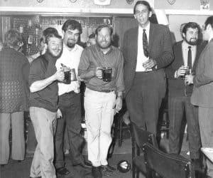 Aussie Powers stag night, circa 1971