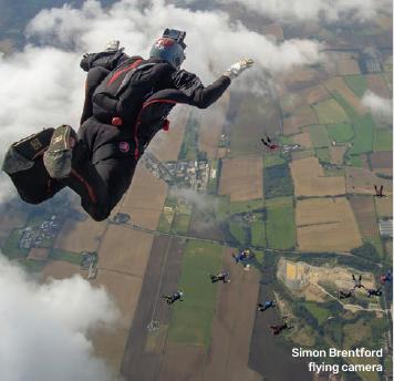Simon Brentford flying camera by Joe Mann